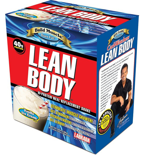 Lean Body MRP Labrada Nutrition (20 пак по 79 гр)