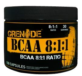 Grenade Essentials BCAA 8:1:1 (150 кап)(годен до 11/2018)