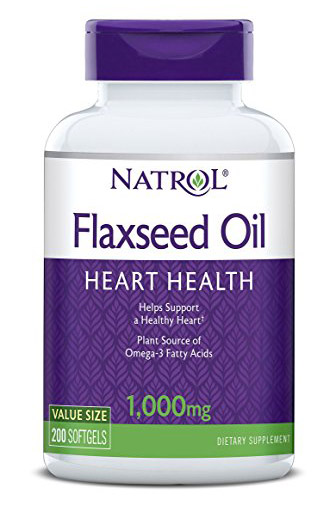 Flax Seed Oil 1000 mg Natrol (200 softgels)
