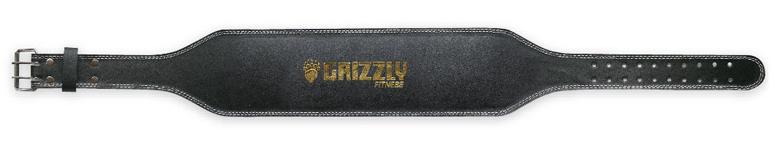 Пояс Grizzly 8466-04 (на пряжке, 2 штыря, широкая спина)