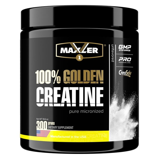 100% Golden Creatine Maxler (300 g)