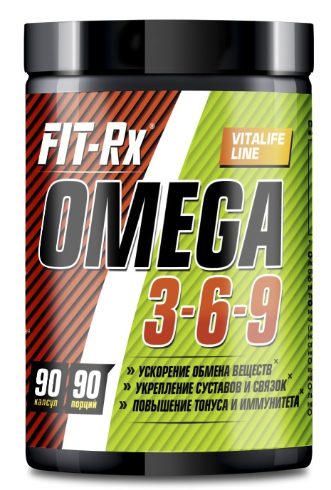 Omega 3-6-9 FIT-Rx (90 кап)