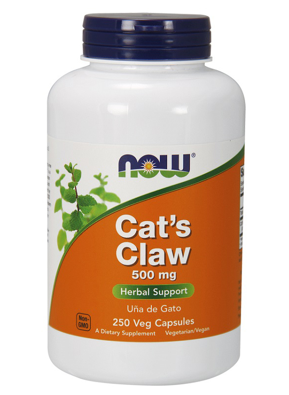 Cat's Claw 500 mg NOW (250 капсул)