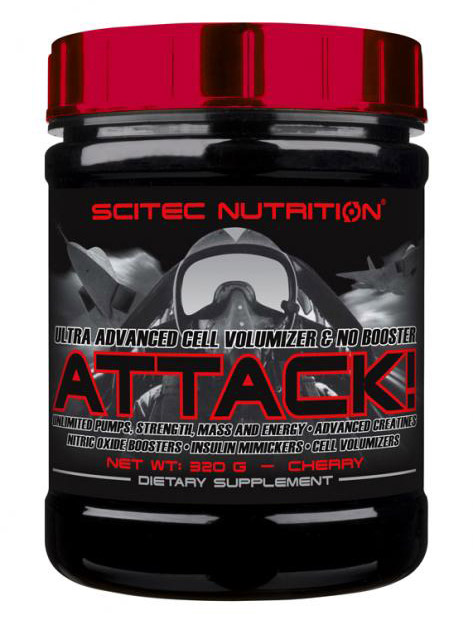 ATTACK! 2.0 SCITEC NUTRITION (320 gr)