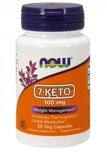 7-Keto 100 mg NOW (30 Veg Caps)