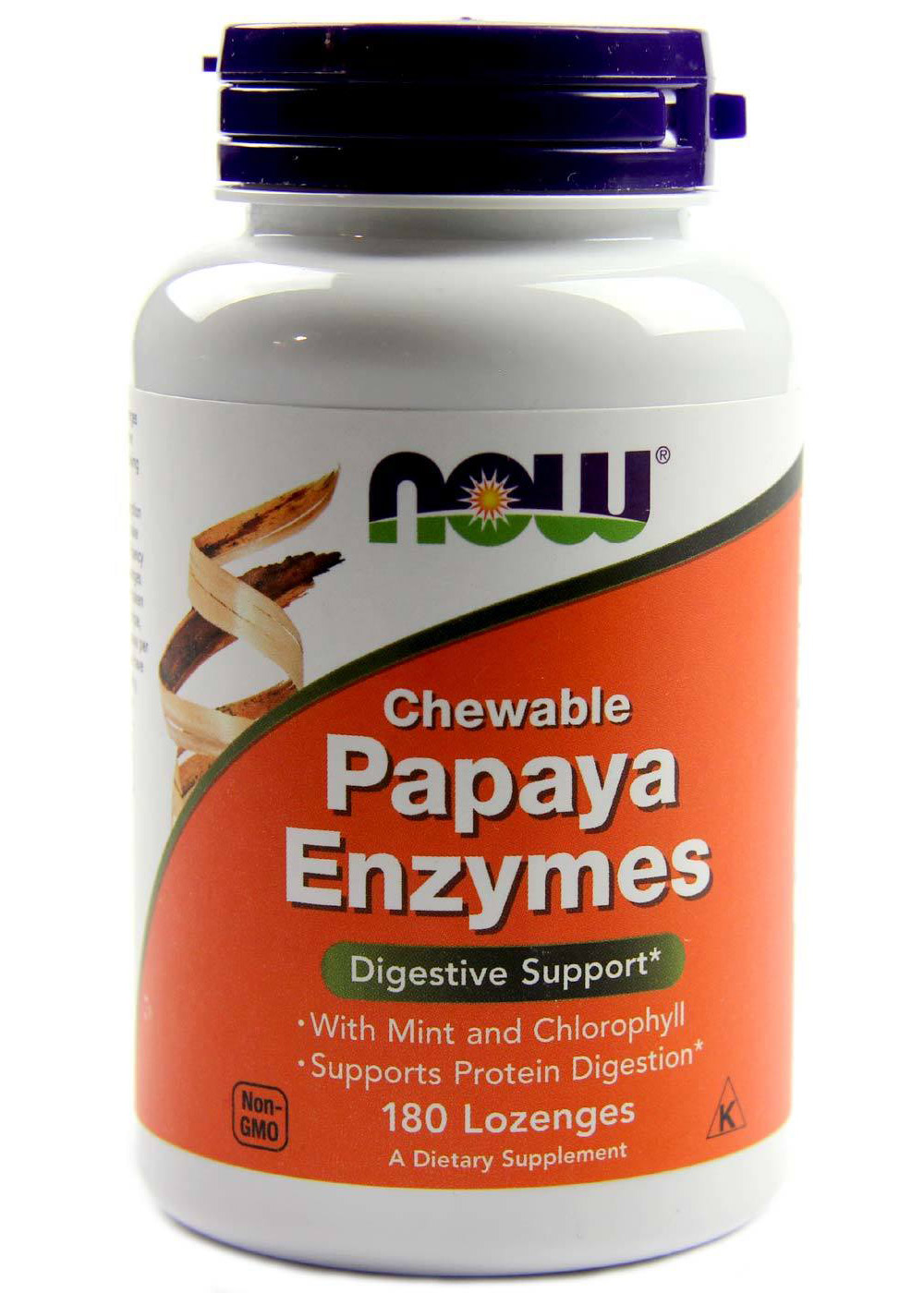 Papaya Enzyme NOW (180 Lozenges)
