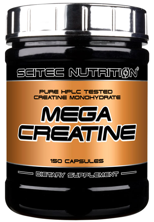 MEGA CREATINE SCITEC NUTRITION (150 кап)(годен до 10/2017)