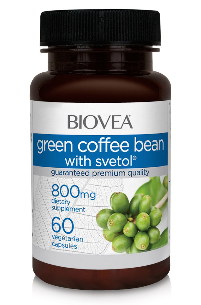 Green Coffee with Stevol 800 mg Biovea (60 вег кап)