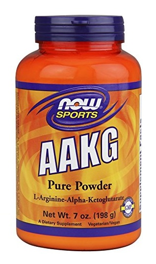 AAKG Pure Powder NOW (198 гр)(годен до 10/2018)