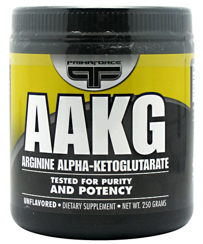 AAKG (Arginine alpha-ketoglutarate) PrimaFORCE (250 гр)