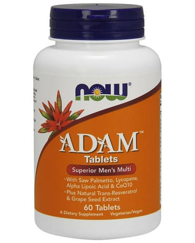 ADAM Superior Men's Multiple Vitamin NOW (60 таб)