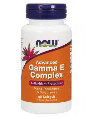 Advanced Gamma E Complex NOW (60 Softgels)