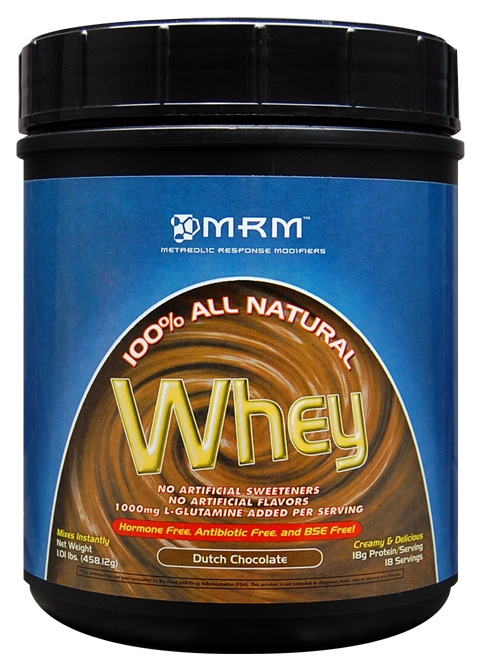 100% All Natural Whey MRM (458 гр)