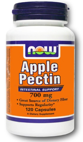 Apple Pectin 700 mg NOW (120 капсул)