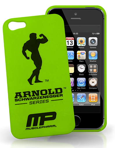Чехол для iPhone 5 MusclePharm