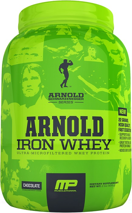 Iron Whey Arnold Series (908 гр)
