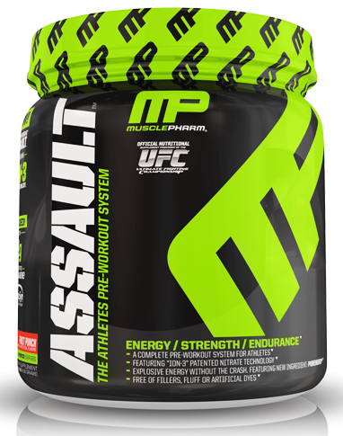 Assault NEW MusclePharm (435 gr, 30 serv)