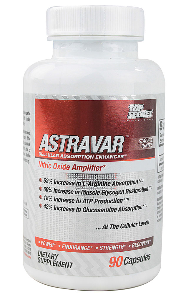 Astravar Stack and Ignite Top Secret Nutrition (90 кап)