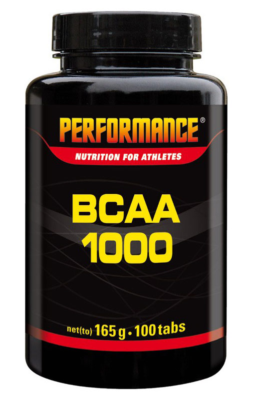 BCAA 1000 PERFORMANCE (100 таб)