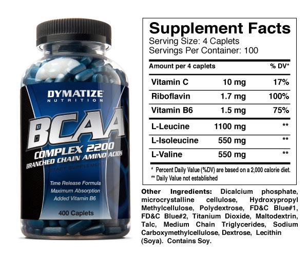 bcaa complex 2200 от dymatize купить
