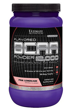 BCAA 12 000 Powder Flavored (457 гр)
