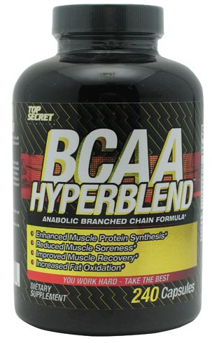 BCAA HyperBlend Anabolic Top Secret Nutrition (240 кап)