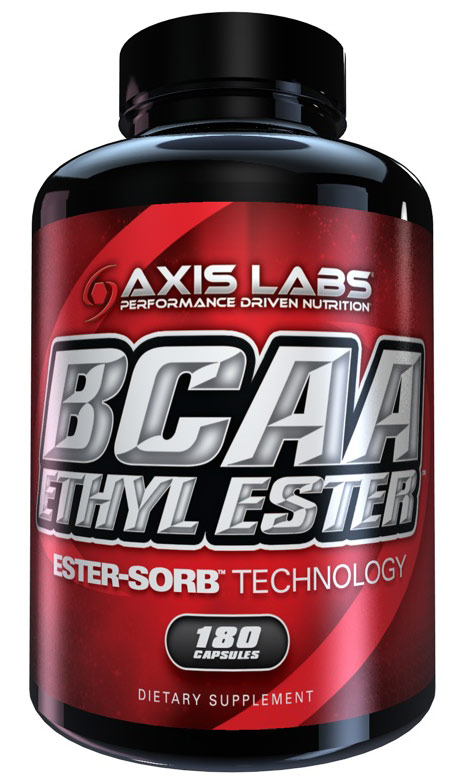 BCAA Ethyl Ester Axis Labs (180 кап)