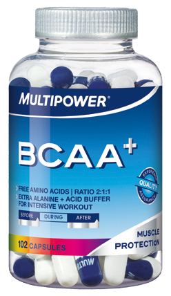 BCAA+ Multipower (102 кап)