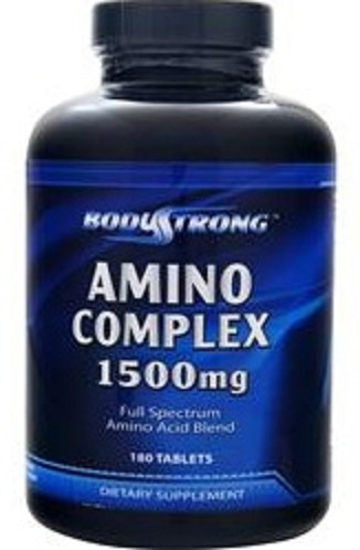 Amino Complex 1500 BodyStrong (180 таб)(годен до 06/2018)