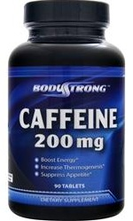 Caffeine 200 mg Body Strong (360 таб)