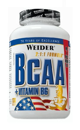 BCAA Tablets Weider (130 таб)