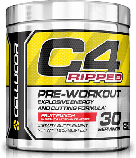 C4 Ripped Cellucor (180 gr, 30 serv)