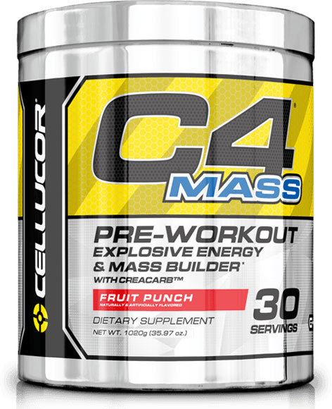 C4 Mass Cellucor (1020 гр, 30 порций)(годен до 09/2018)