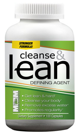 Cleanse & Lean Max Muscle (100 cap)