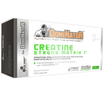 DOMINATOR CREATINE STRONG MATRIX 7 (120 кап)