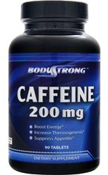 Caffeine 200 mg Body Strong (90 таб)