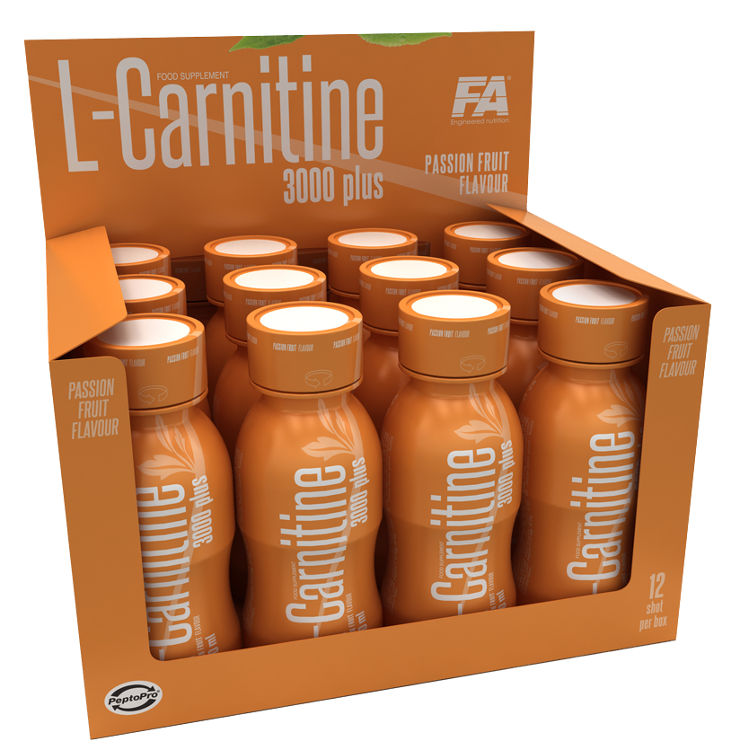 L-Carnitine 3000 Fitness Authority (12 x 100 ml)
