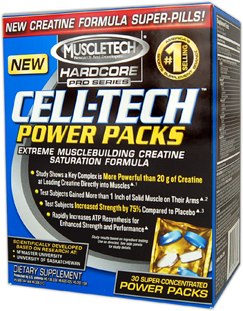 Cell-Tech Hardcore Pro Series Power Pack (30 pak x 5 tab)