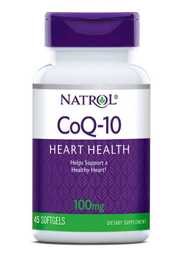 CoQ-10 100 mg Natrol (60 softgels)(EXP 30/09/2019)