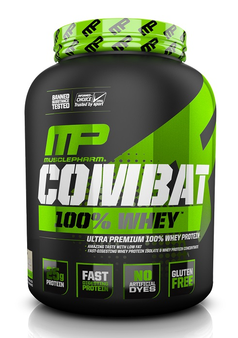 Combat 100% Whey Sport Series MusclePharm (2269 гр)
