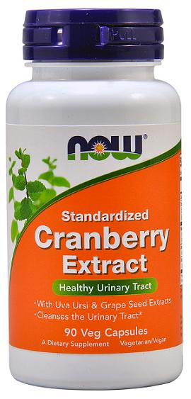 Cranberry Extract NOW (90 Veg Capsules)(EXP 04/2017)