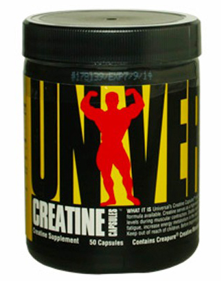 Creatine Capsules Universal Nutrition (50 кап)(годен до 10/2016)