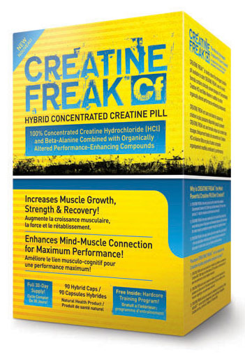 CREATINE FREAK (90 кап)