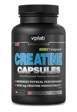Creatine Capsules VP Laboratory (90 кап)(годен до 16/06/2017)