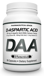 D-ASPARTIC ACID DAA SD Pharmaceuticals (90 кап)