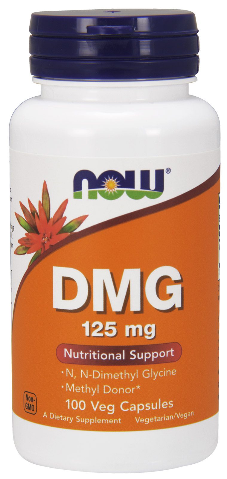 DMG 125 mg NOW (100 Cap)