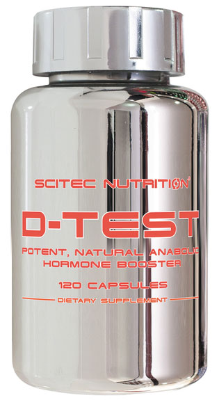D-TEST SCITEC NUTRITION (120 cap)