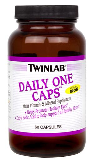 Daily One Caps Without Iron Twinlab (60 cap)