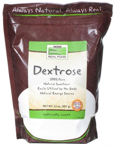 Dextrose 2 lb NOW (907 гр)