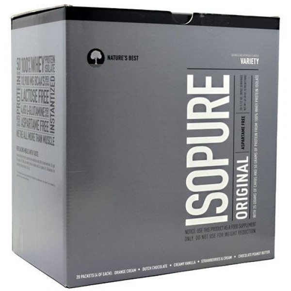 IsoPure Original Nature's Best (20 pac 86-90 gr)(EXP 08/2018)